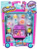 Cumpara ieftin Shopkins, pachet 12 figurine, colectia Europa Purple, Moose