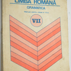 Gramatica Manual Limba Romana pentru clasa a VII-a 1993