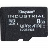 Card de memorie Kingston Industrial 8GB MicroSDHC Clasa 10