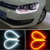 Daylight DRL semnalizare dinamica lumini de zi benzi flexibile LED-uri