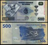 = CONGO - 500 FRANCS - 2013 - UNC   =