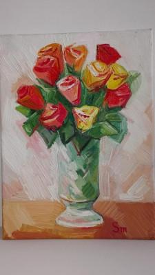 Picturi, portrete la comanda in ulei pe panza pictate clasic manual ideale cadou foto