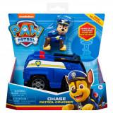 Masinuta cu figurina Paw Patrol, Chase Patrol Cruiser 20114321