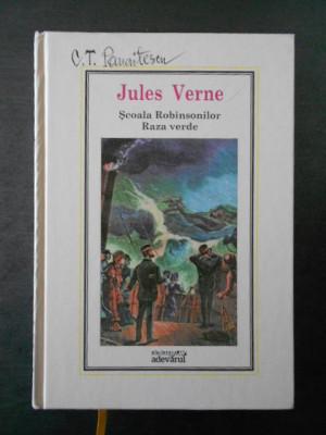 Jules Verne - Scoala Robinsonilor, Raza verde * Adevarul, Nr. 6 foto