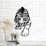 Cumpara ieftin Decoratiune pentru perete, Ocean, metal 100 procente, 66 x 38 cm, 874OCN1028, Negru