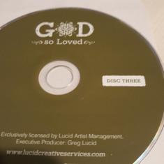 GOD SO LOVED  - CD