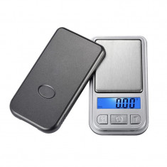 Mini cantar pentru bijuterii, LCD, 200 g, precizie 0.1 g
