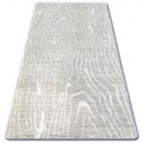 Covor acril Manyas 1703 fildeş, 80x150 cm