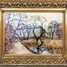 Tablou autentic  Rippl Ronai Jozsef, Peisaje, Ulei, Impresionism