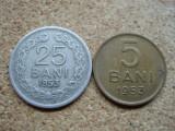 Cumpara ieftin ROMANIA - 25 BANI 1953 + CADOU 5 BANI 1953 , RPR , L 7.15