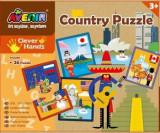 Cumpara ieftin Set 26 puzzle-uri - Tari, 52 piese