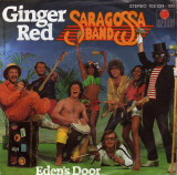 "Saragossa Band - Ginger Red (1980, Ariola) Disc vinil single 7"""