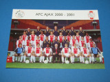 Foto (originala) fotbal-AJAX AMSTERDAM (Olanda-SEZONUL 2000-2001) Chivu,Lobont