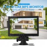 Monitor masina LCD 7'' TFT 2 intrari rca si slot card usb camera mers inapoi