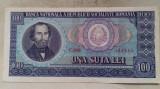BANCNOTA 100 LEI 1966-ROMANIA (C.0006)