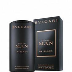 Gel de dus Bvlgari Man in Black, 200 ml, pentru barbati