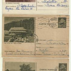 3 cp Pionieri - RPR, circulate 1955,1956,1957