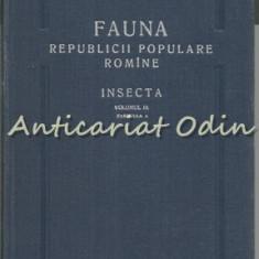 Fauna R.P.R. Vol. IX Fasc. 4 Insecta (III). fam. Ichneumonidae - Constantineanu