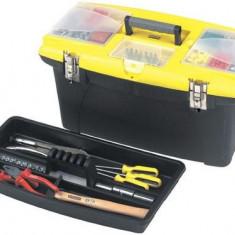 Cutie pentru unelte Stanley Jumbo 1-92-905, 2 organizatoare detasabile, 16inch