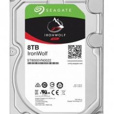 Hdd intern seagate 3.5 8tb ironwolf sata3 7200rpm 256mb