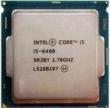 Procesor Intel Skylake, Core i5 6400 2.70GHz   socket LGA 1151, Intel Core i5, 4