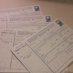 Lot 4 mandate postale noi si nefolosite - perioada comunista