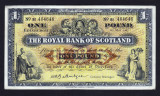 Scotia 1 Pound The Royal Bank Of Scotland s464646 serie repetitiva 1962