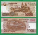 = COREA DE NORD - 5000 WON - 2013 - UNC   =
