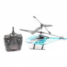 Elicopter Fly to Sky RC cu telecomanda 2.4GHz, control 360 grade, 45cm, albastru