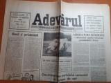 Ziarul adevarul 21 februarie 1990-dezintegrarea partidului comunist in europa