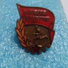 insigna    Merite  Sportive