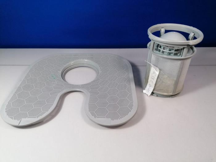 Filtru masina de spalat  vase Whirlpool cu sita inferioara 481010595921