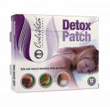Plasturi pentru detoxifiere blanda si usoar, Detox Patch, 12 plasturi, CaliVita