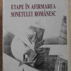 ETAPE IN AFIRMAREA SONETULUI ROMANESC - A. VOICA