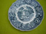 Frumoasa farfurie decorativa, portelan vechi Rorstrand