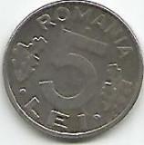No(2) moneda-ROMANIA-5 LEI1993