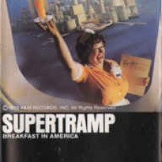 Caseta Supertramp ‎– Breakfast In America, originala, rock