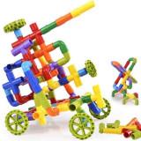 Set constructie creativa 26 piese de plastic, Generic