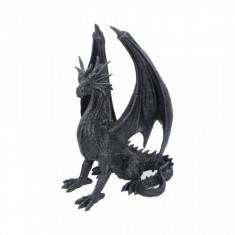 Statueta dragon Aripa Neagra 37 cm