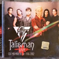 Talisman – Live: Cele Mai Mari Hit-uri 1996-2002 (1 CD)