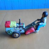 JUCARIE VECHE CHINEZEASCA DIN TABLA – MOTOCULTOR – STARE F. BUNA