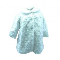 Palton pentru bebelusi NN GPB-23, Alb