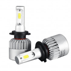 Kit 2 led-uri auto H7, 6500 K, 8000 lm