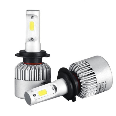 Kit 2 led-uri auto H7, 6500 K, 8000 lm foto