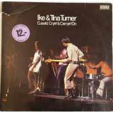 VINIL Ike & Tina Turner – Cussin', Cryin' & Carryin' On - (G) -