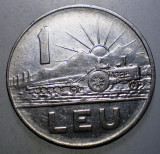 7.691 ROMANIA RSR 1 LEU 1966