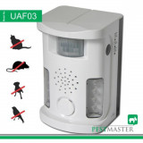 Aparat anti pasari, anti rozatoare, anti animale Pestmaster AN-B010-UAF03 sonic bird, 70 mp, 7kHz