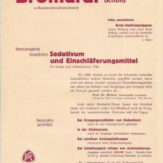 Reclama de farmacie germana interbelica