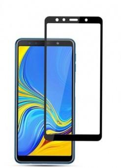 Folie protectie display sticla 6D FULL GLUE Samsung Galaxy A7 (2018) BLACK foto