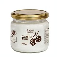 Ulei de Cocos Virgin Presat la Rece Bio Dragon Superfoods 300ml Cod: 3800225473149